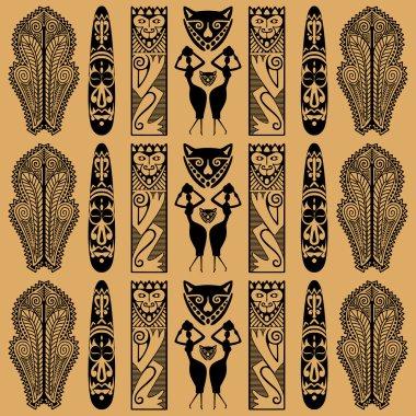 African decorative pattern