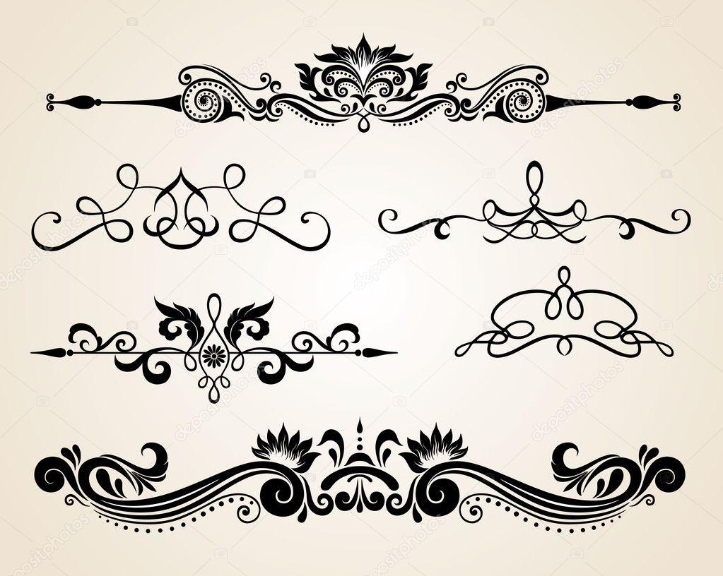 Antiguos pergaminos elementos de dise o y decoraci n de - Pagina de decoracion ...