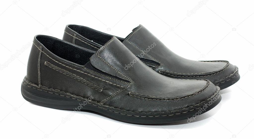 c27ea96a7ca Παπούτσια ανδρικά απομονωθεί σε λευκό — Φωτογραφία Αρχείου ...