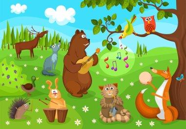 Forest concert