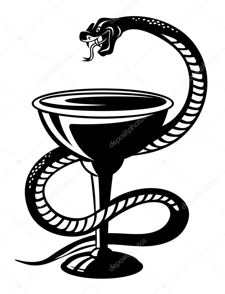 Pharmacy snake symbol stock vectors royalty free pharmacy snake medical symbol snake on cup stock illustration buycottarizona