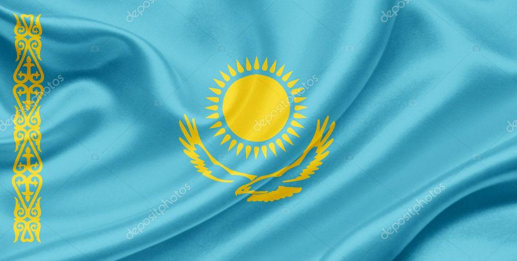 картинка флаг казахстана