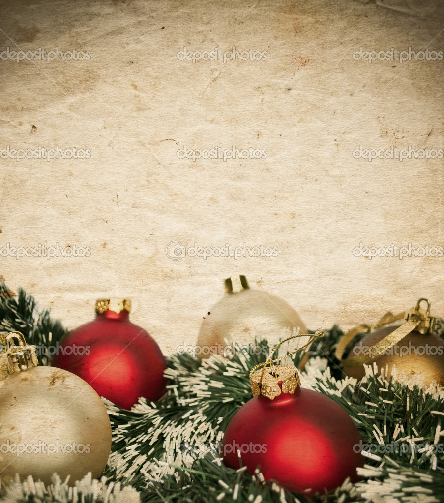 vintage weihnachten hintergrund stockfoto alexis84. Black Bedroom Furniture Sets. Home Design Ideas