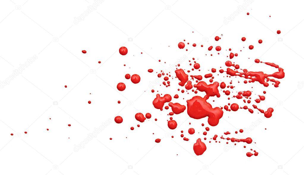 close up de gotas de tinta vermelha em fundo branco fotografias de stock inxti74 10391471. Black Bedroom Furniture Sets. Home Design Ideas