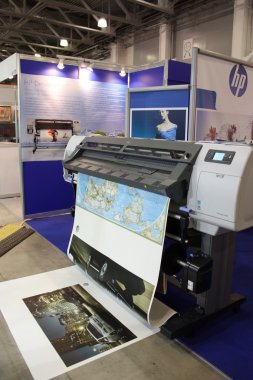 Large Format Digital Printer - Hewlett-Packard