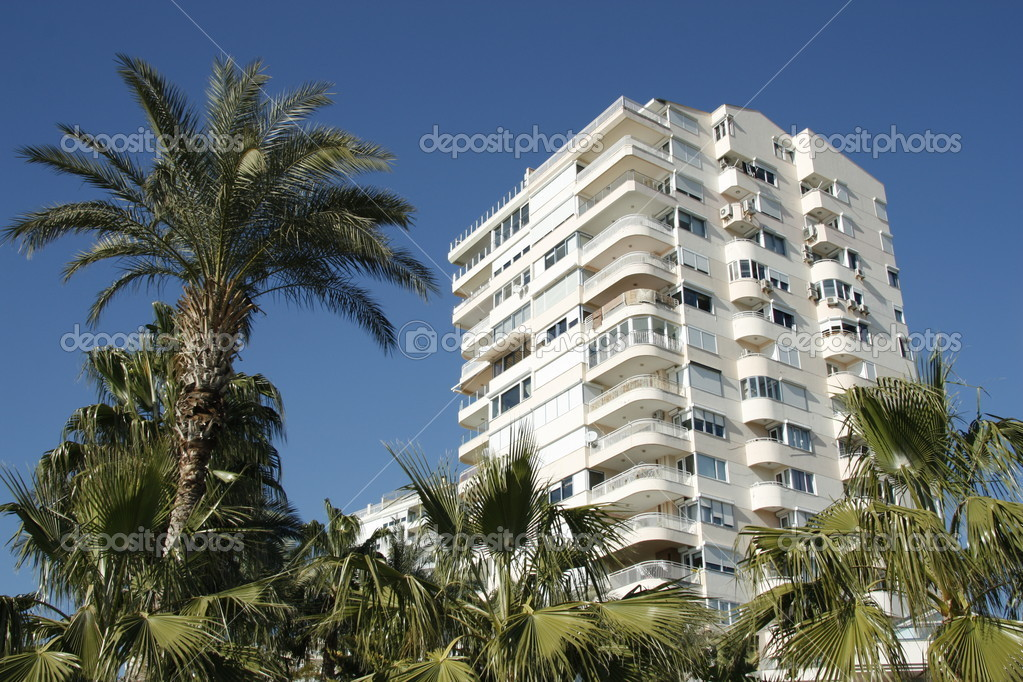 Condominium at tropics