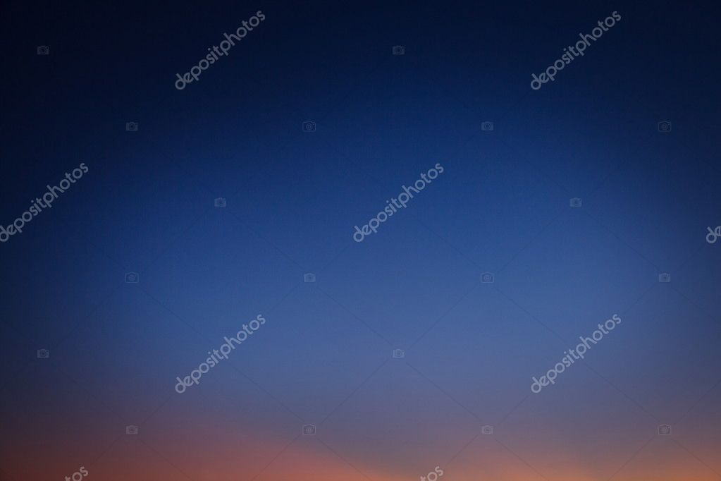 Abstract background night sky after sunset.