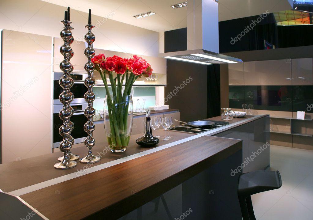 Moderne keuken u stockfoto araraadt