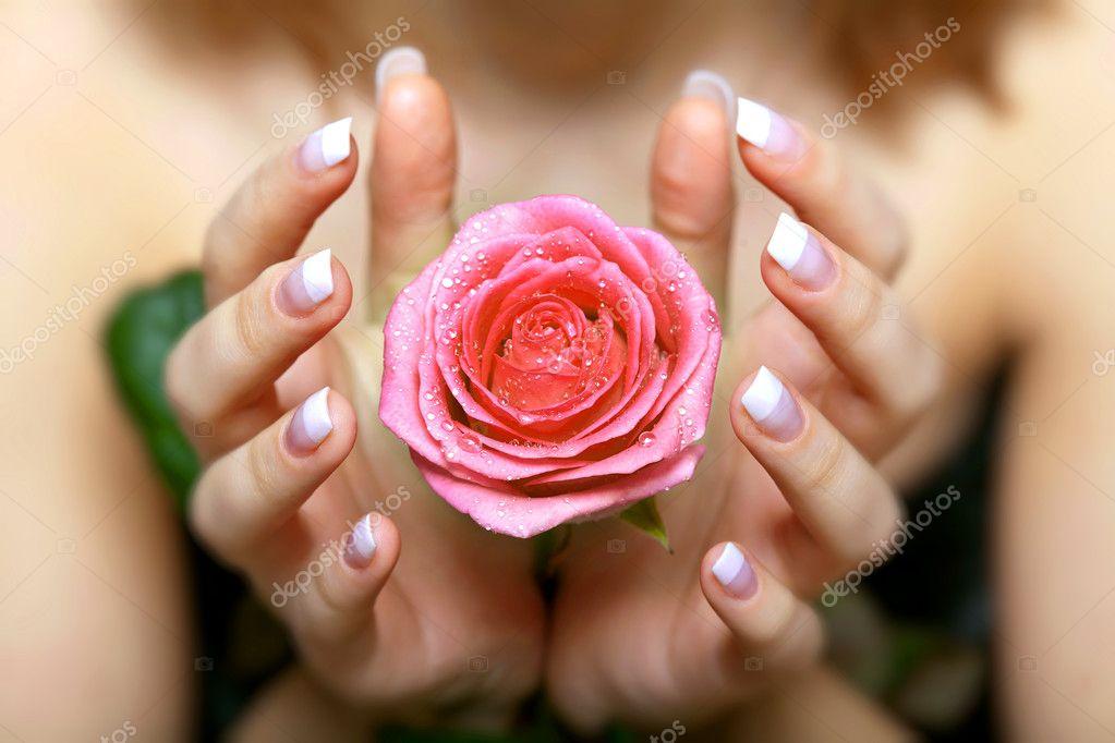 Держать розы в руках сонник