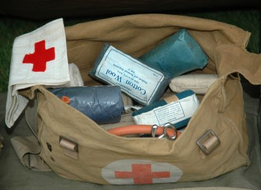World War 2 Army First Aid Bag