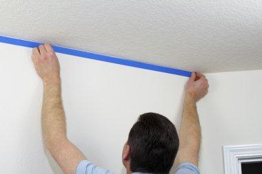 Applying Painter's Tape