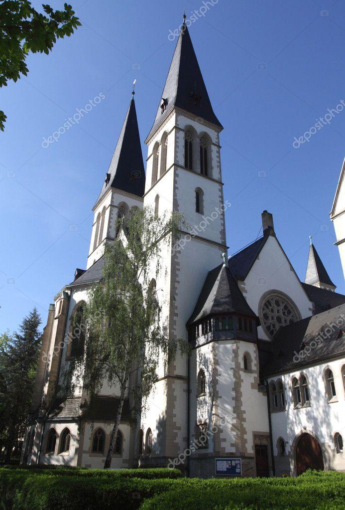 igreja da trindade em wiesbaden stock photo sapientisat 10520563. Black Bedroom Furniture Sets. Home Design Ideas