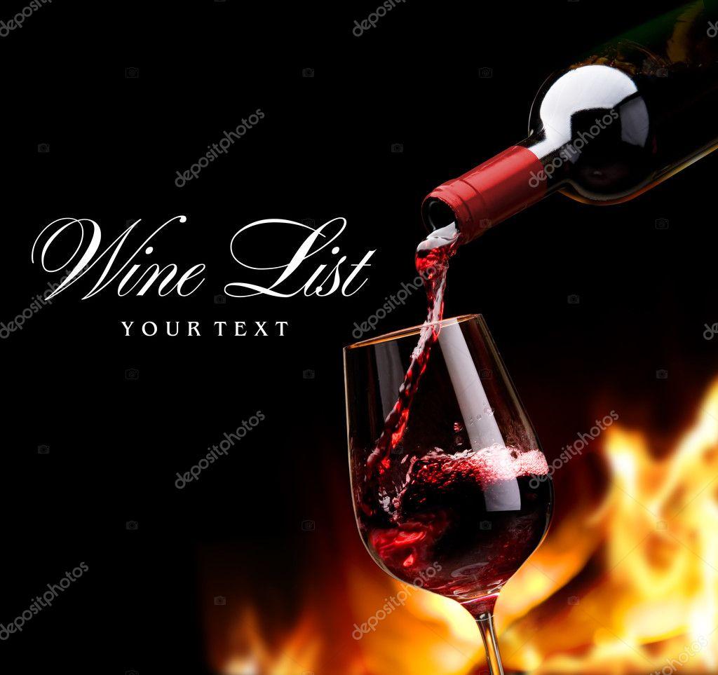 Art wine list design