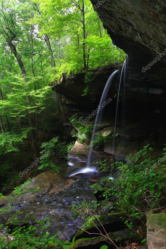 Tall waterfall - Alabama