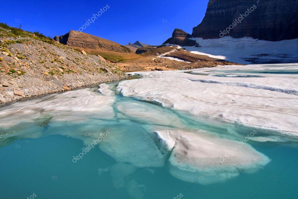 Grinnell Glacier Pond - Montana