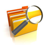 Search in folders