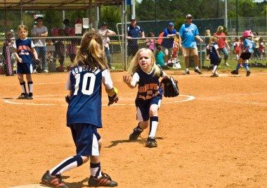 Young Girls Softball