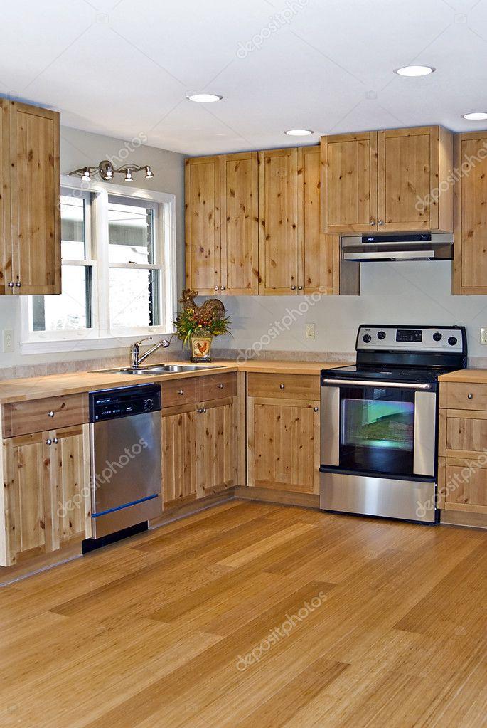 pini e bambù piccola cucina — Foto Stock © noonie #8628097