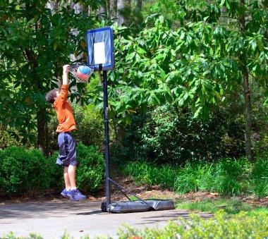 Young Basketball Player