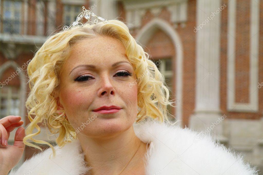 Blonde Facial Queen