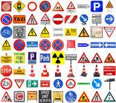 Fotografie Set of European signs