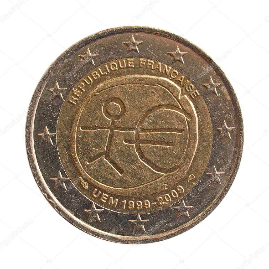 Euro Münze Stockfoto Claudiodivizia 9508356
