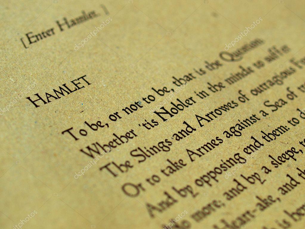 a description of hamlet as an enigmatic standout