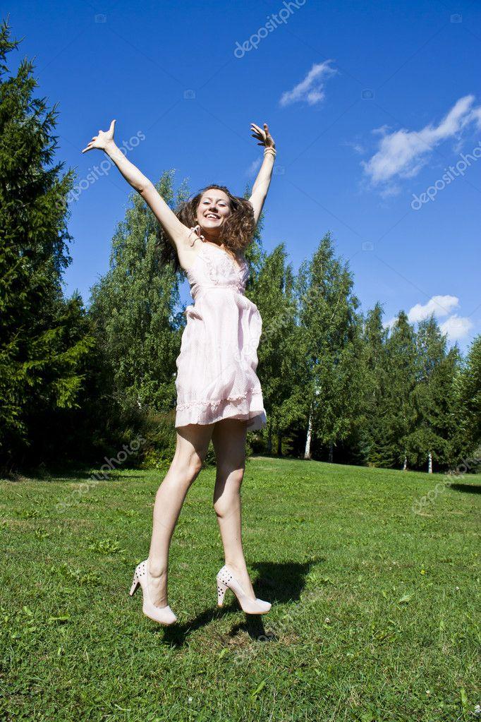 Моя девушка прыгает мне на руки — pic 9