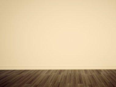 Minimal interior blank wall