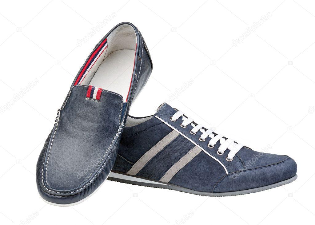 zwei Männer Schuhe isoliert weiß — Stockfoto © photobac  8928809 02e6bb91a4