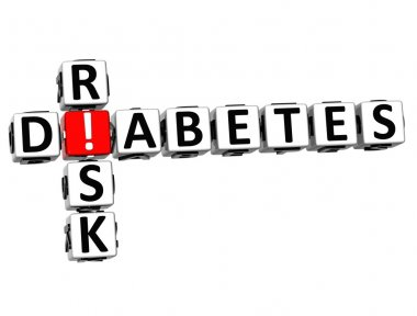 3D Diabetes Risk Crossword