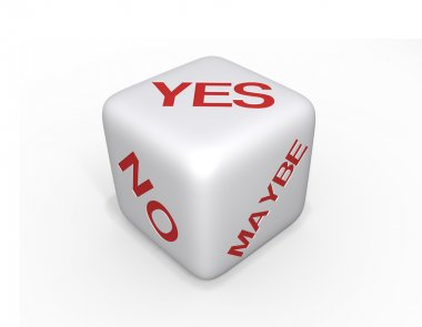 Dice: Yes, No, Maybe - XL