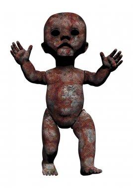 Creep toy doll