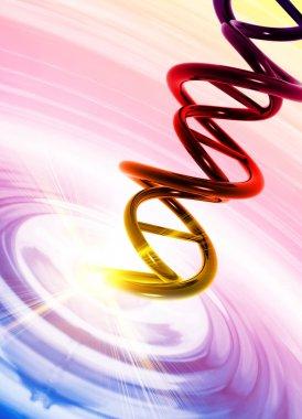 DNA in liquid