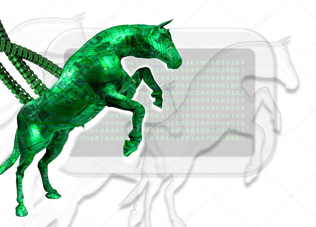 A Trojan horse may also be referred to as a Trojan horse virus but that is technically incorrect Unlike a computer virus a Trojan horse is not able to