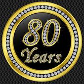 Fotografie 80 Jahre Jubiläum mit Diamanten