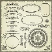 Fotografie Set of design elements