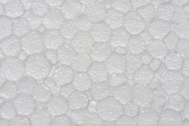 Polystyrene foam texture, close up shot stock vector