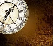 Fotografie Vector Grunge abstrakt mit antike Uhren