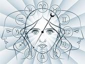 Fotografia indicazioni dello zodiaco