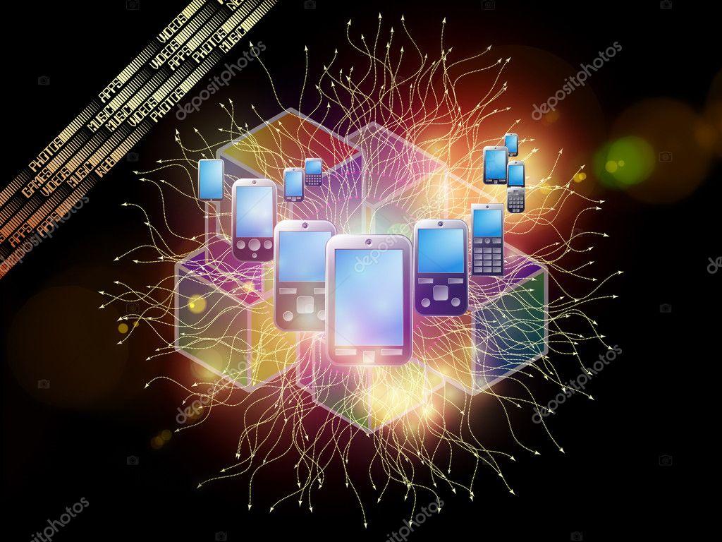 Sfondo Cellulare Foto Stock Agsandrew 8759443