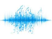 Photo Music Wave