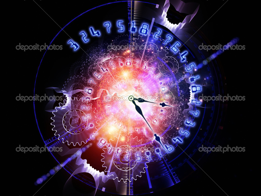 Abstract Clock Background Stock Photo Image By Agsandrew 9838916