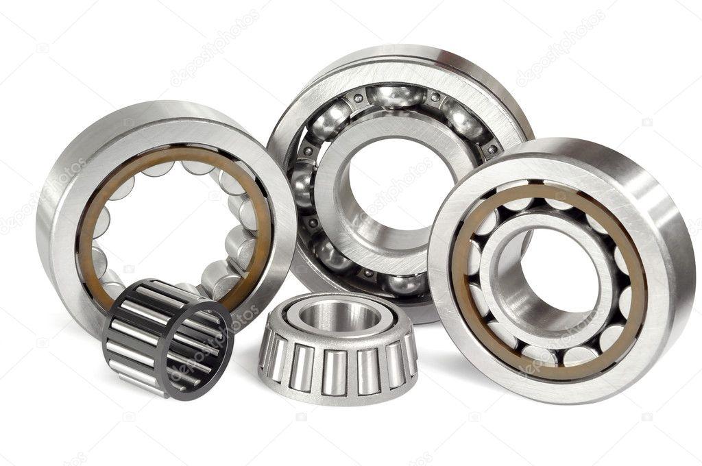 Five ball bearings