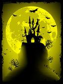 Fotografie strašidelný halloween s kopií prostoru. EPS 8
