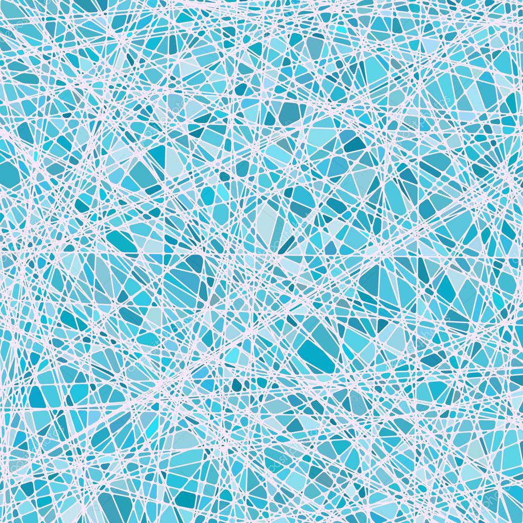 texture vitrail dans un ton bleu. EPS 8 — Image vectorielle beholdereye © #9345365