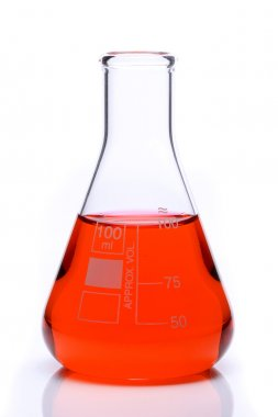Science lab flask