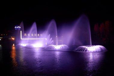 Fountain Roshen in Vinnytsya, Ukraine