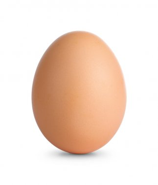 Egg with clipping path