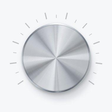 Shiny volume knob